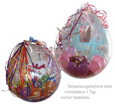 Verpackungsballon, Geschenkballon